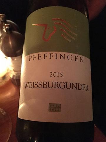 Pfeffingen Weissburgunder 2015